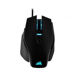 Mouse USB Corsair M65 RGB Elite FPS Gaming 18000dpi 9 botones, Negro