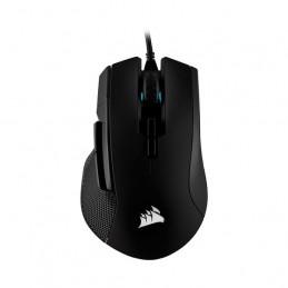 Mouse USB Corsair Ironclaw RGB Gaming, 18000dpi 7 botones Negro