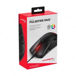 Mouse USB Kingston HyperX Pulsefire Raid, Gamer 16000 dpi Ergonomico Negro 11 botones
