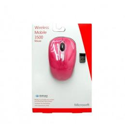Mouse Inalambrico Microsoft Mobile 3500 1000dpi rosado BlueTrack
