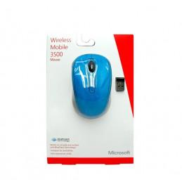 Mouse Inalambrico Microsoft Mobile 3500 1000dpi celeste BlueTrack