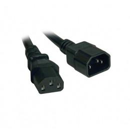 Cable poder de extension Tripp-Lite P004-010, IEC-320-C14 a IEC-320-C13, 3.05mts