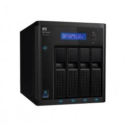 Unidad de almacenamiento en red Western Digital My Cloud PR4100, 16TB, 4 bahias, GbE
