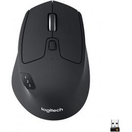 Mouse Inalambrico Logitech Triathlon M720 1000DPI DBateria24meses Negro 910-004790