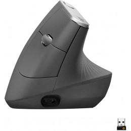Mouse Inalambrico Logitech MX Vertical 1600dpi, 910-005447