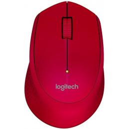 Mouse Inalambrico Logitech M280 1000dpi Diestro Rojo 910-004286