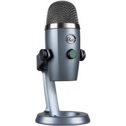 Microfono Condensador Logitech Blue Microphones Yeti Nano PC y Mac USB, 988-000088