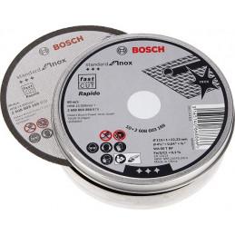 "Disco Corte Metal 4 1/2"" 115x1.0mm Inox 10 Discos Standard, Bosch 2608603254"
