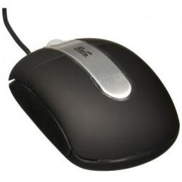 Mouse USB Klip Xtreme MM-3315-C PS2 USB Negro Plata