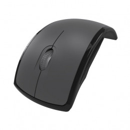 Mouse Inalambrico Klip Xtreme KMW-375GR Lightflex Plegable 1000dpi Gris