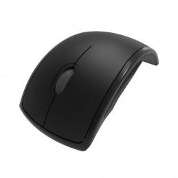 Mouse Inalambrico Klip Xtreme KMW-375BK Lightflex Plegable 1000dpi Negro