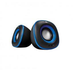 Parlante Xtech XTS-115BL Spekter multimedia 2.0 6W 3.5mm InputUSB5V Azul