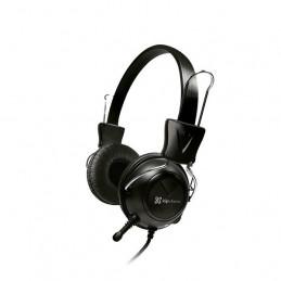 Auricular On-ear Klip Xtreme KSH-320 con mic y control Negro