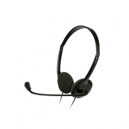 Auricular On-ear Klip Xtreme KSH-270 In-line con control mic Negro