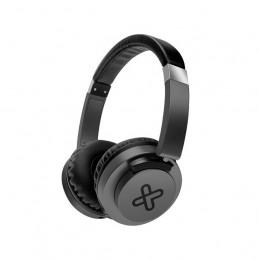 Auricular On-ear Klip Xtreme KHS-851BK AkoustikFX 3.5mm con mic Negro