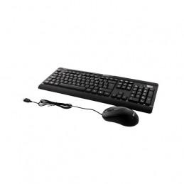 Combo Teclado Mouse USB Klip Xtreme KCK-251S DeskMate Multimedia