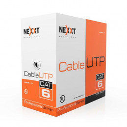 Cable UTP Nexxt NGC-3UURBT00 Red Cat6A AWG23 CRM Azul 305m