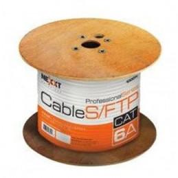 Cable UTP Nexxt NAB-UTP6ABL Red Cat6A Bobina SFTP AWG23 LSZH Azul 305m