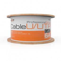 Cable UTP Nexxt PCGUCC6ALZGR Red Cat6A Bobina AWG23 LSZH Gris 305m