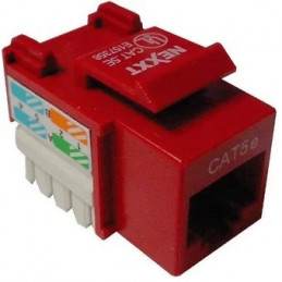 Keystone Jack Nexxt AW110NXT13 RJ-45 conector Red Cat5E