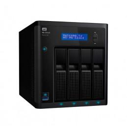 Unidad de almacenamiento en red Western Digital My Cloud EX4100, 4 bahias, LAN