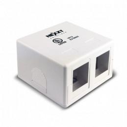 Caja de Montaje Nexxt AE180NXT10 2Port Superficilal Descargada Blanco
