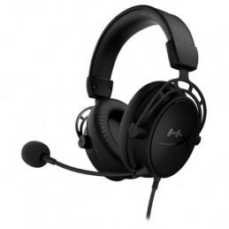 Auriculares Inalambrico On-Ear HyperX Cloud Alpha S Sonido envolvente 7.1, Compatible con PC, PS4