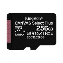 Memoria MicroSD Kingston Canvas 256GB Canvas Select Plus Class 10 SDCS2/256GB