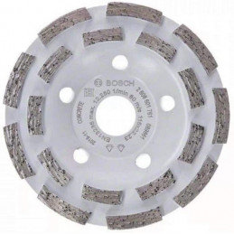 Copa Diamantado Experto Segmentado 115 x22.23mm para concreto, Bosch 2608601761