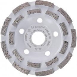 Copa Diamantado Experto Segmentado 100 x22.23mm Para concreto, Bosch 2608601762