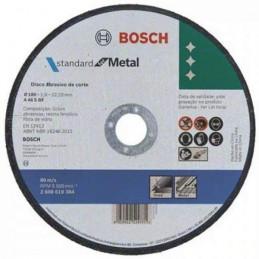 Disco Corte Standard Bonded 180mm x 1,6mm, Bosch 2608619384