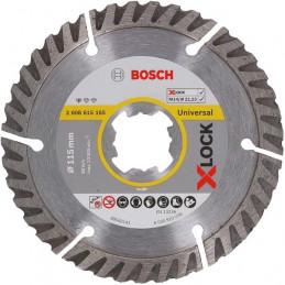 Disco Diamantado Standard for Universal X-LOCK 115mm x22.23x2x10mm, Bosch 2608615165