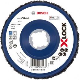 Disco de Limpieza N377 X-LOCK 125mm Best for Metal, Bosch 2608621833