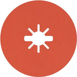 Disco de Lija de Fibra R782 X-LOCK 115mm G60+ 25pcs, Bosch 2608621821