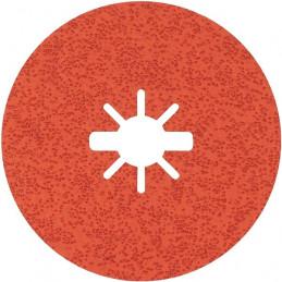 Disco de Lija de Fibra R782 X-LOCK 115mm G36+ 25pcs, Bosch 2608621820