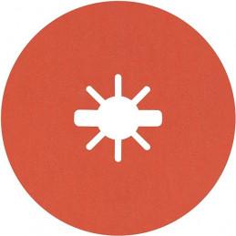 Disco de Lija de Fibra R782 X-LOCK 115mm G120+ 25pcs, Bosch 2608621823