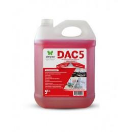 Desinfectante DAC5 5L Concentrado Amonio Cuaternario, 30041 Daryza