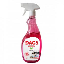Desinfectante DAC5 1L Gatillo Aplicación Directa Amonio Cuaternario, 30044 Daryza