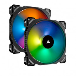 Fan Corsair Dual ML140 Pro RGB LED 14 cm, 400 - 1200 RPM, 10.8V - 13.2V, PWM Control