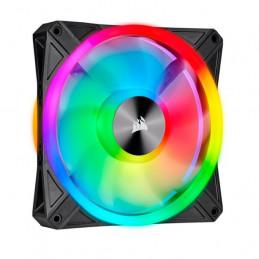 Fan Corsair QL140 RGB, 14 cm, 550 - 1250 ±10% RPM, 6V - 13.2V, PWM Control