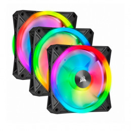 Fan Corsair Triple QL120 RGB, 12cm, 525 - 1500 ±10% RPM, 6V - 13.2V, PWM Control