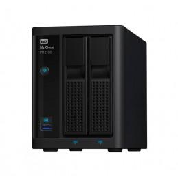 Unidad de almacenamiento en red Western Digital My Cloud PR2100, 16TB, 2 bahias, GbE