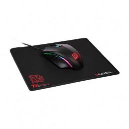Mouse optico Gamer Talon Elite RGB + Mouse Pad Thermaltake, Iluminación RGB, 6 botones
