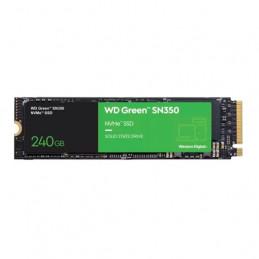 Unidad de estado solido Western Digital Green SN350, 240GB, NVMe, M.2 2280, PCIe Gen3