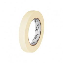Cinta Masking Tape, 50m Ancho 18mm Espesor 0.13mm, Papel de Alta Resistencia, MSK-3/4 12590 Truper