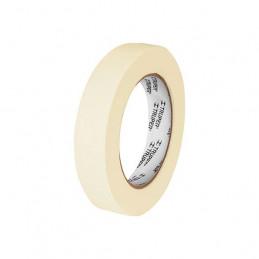 Cinta Masking Tape, 50m Ancho 24mm Espesor 0.13mm, Papel de Alta Resistencia, MSK-1 12591 Truper
