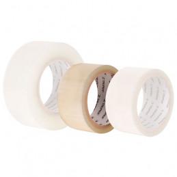 Cinta de Embalaje Transparente, 50m ancho 48mm Adhesico acrilico Espesor 0.050mm, CTR-50 12555 Truper