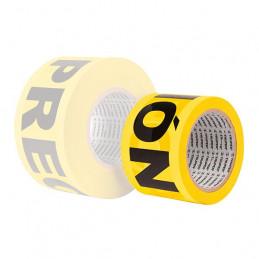 Cinta de Advertencia Precaucion 90m Espesor 0.04mm, BAN-PRE-300 12578 Truper