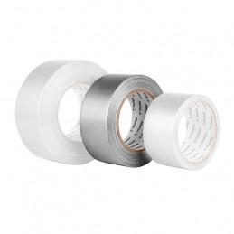Cinta Ducte Tape 30m Ancho 48mm Espesor 0.16mm, Elongacion 10%, Resistente a Temperaturas, CDU-30P 20529 Pretul