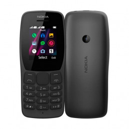 """Telefono celular básico Nokia 110, 1.77"""", GSM, Radio FM, Dual Sim"""
